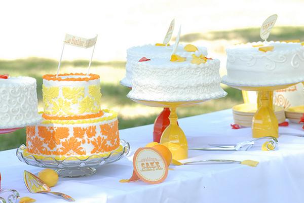 DIY Cake Stand Tutorial Wedding