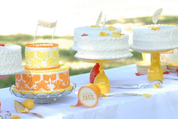 DIY Cake Stand Tutorial Wedding