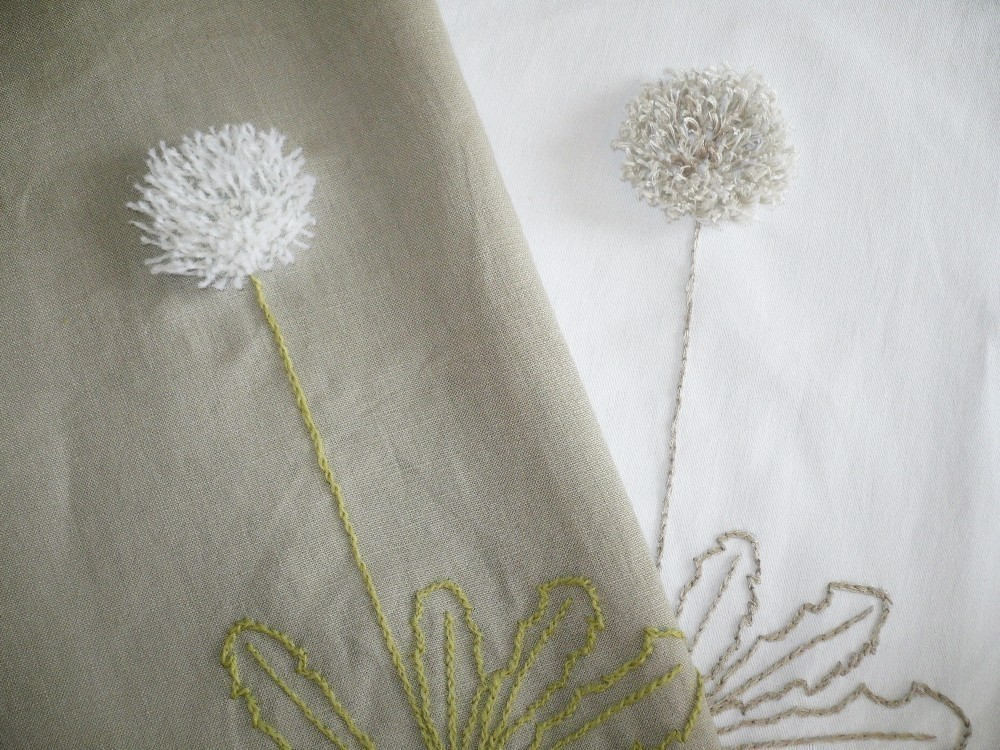 Awesome Dandelion Embroidery DIY