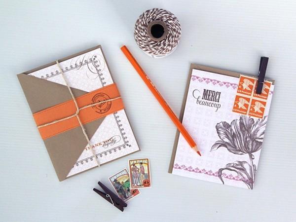 handmade notecards etsy